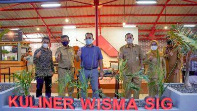 Photo of SIG Resmikan Peremajaan Pujasera Wisma A. Yani, Gresik