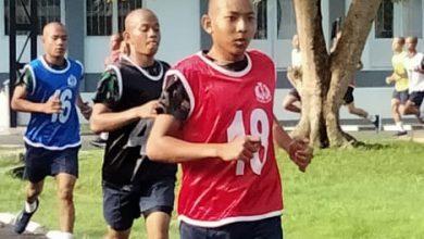 Photo of Siswa Dikmaba PK TNI AL Satdik-1 Kodiklatal Tanjung Uban Laksanakan Samapta Awal Pendidikan