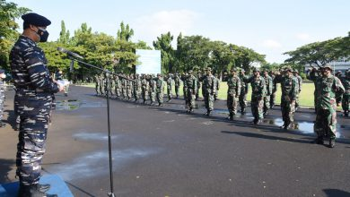 Photo of Danpusdikbanmin Kodiklatal Buka Orientasi Pendidikan Diktukpa TNI AL Angkatan ke-51