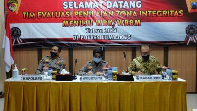 Photo of Polres Lumajang Terima Kunjungan Tim Internalisasi Zona Integritas Menuju WBK Dari Polda Jatim