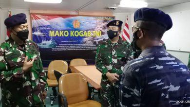 Photo of Dankodiklatal Tinjau KRI Semarang-594 Kapal Markas Latihan Armada Jaya Ke-39 TA 2021