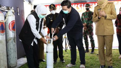 Photo of Gubernur Khofifah Resmikan Stasiun Pengisian Oksigen Gratis Untuk Masyarakat Isoman dan Isoter Covid-19 di Malang Raya