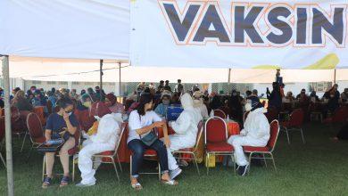 Photo of Pelaksanaan Vaksinasi Dosis Kedua AstraZeneca di Lapangan Thor Berlangsung Tertib
