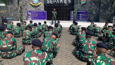 Photo of Siswa Dikmapa PK TNI AL Angkatan ke-28 Pusdikkes Kodiklatal Ikuti Pelatihan Bantuan Hidup Dasar dan Penanganan Covid-19