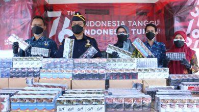 Photo of Bea Cukai Gresik Amankan Ratusan Ribu Batang Rokok Ilegal
