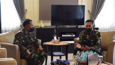 Photo of Gubernur AAL Terima Kunjungan Kerja Danpuspomal