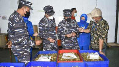 Photo of Seklem AAL Tinjau Lattek Manajerial Taruna AAL Korps Suplai di PT. Pindad