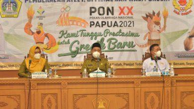Photo of Bupati Gresik Bekali Pelatih  Atlit dan OfOfficial PON XX