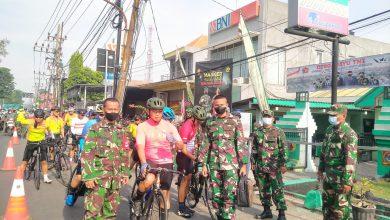 Photo of Koramil Driyorejo Menjadi Chek Point Rombongan Gowes Irjenad