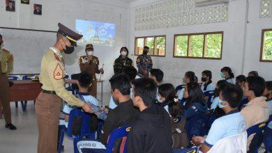 Photo of Sambangi Siswa SMU Nisel, Taruna Satlat KJK Ajak dan Promosikan AAL