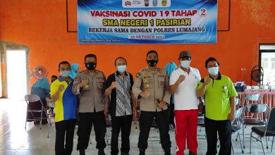 Photo of Gencarkan Vaksinasi, Polres Lumajang Capai 1068 Dosis Vaksin dalam 1 hari