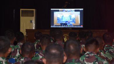 Photo of Aspers Kasal Beri Pembekalan Siswa Diktukpa Angkatan LI dan Diktupakat TA 2021 Melalui Vicon